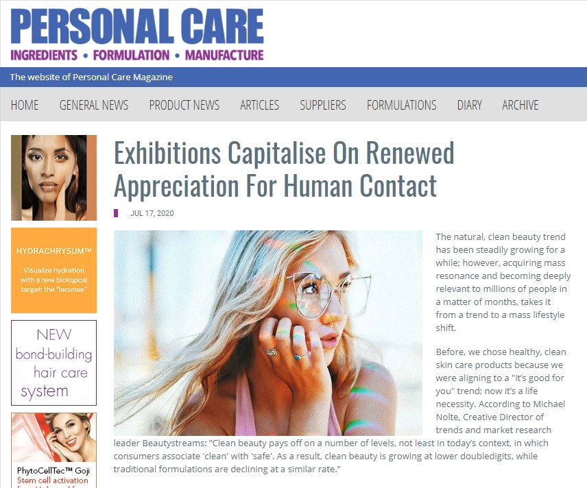 BBAM personal care products feature